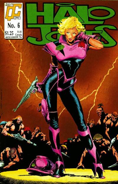 Cover for Halo Jones (Fleetway/Quality, 1987 series) #6