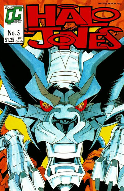 Cover for Halo Jones (Fleetway/Quality, 1987 series) #5
