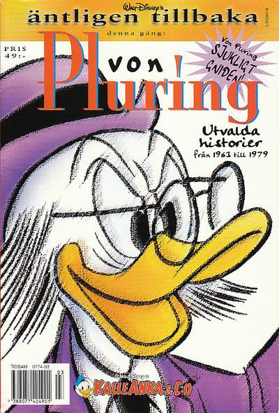 Cover for Äntligen tillbaka! (Egmont, 2000 series) #[5] - von Pluring utvalda historier från 1963 till 1979