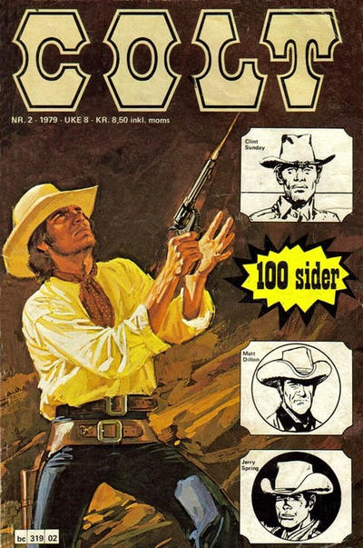 Cover for Colt (Semic, 1978 series) #2/1979