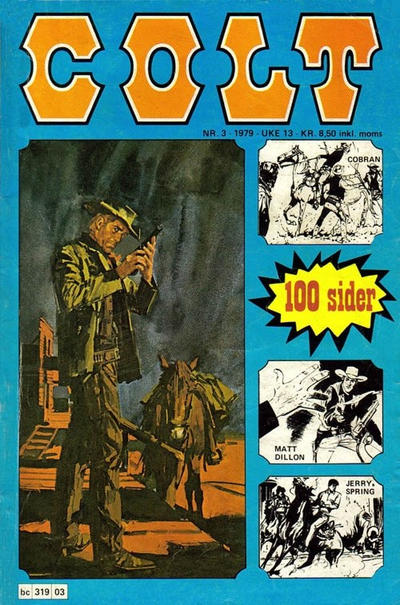 Cover for Colt (Semic, 1978 series) #3/1979