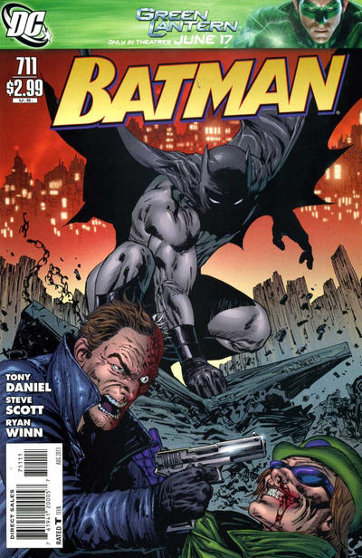 Cover for Batman (DC, 1940 series) #711