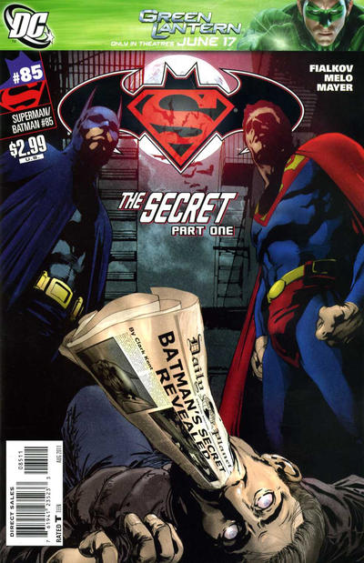 Cover for Superman / Batman (DC, 2003 series) #85