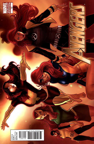 Cover for Avengers (Marvel, 2010 series) #13