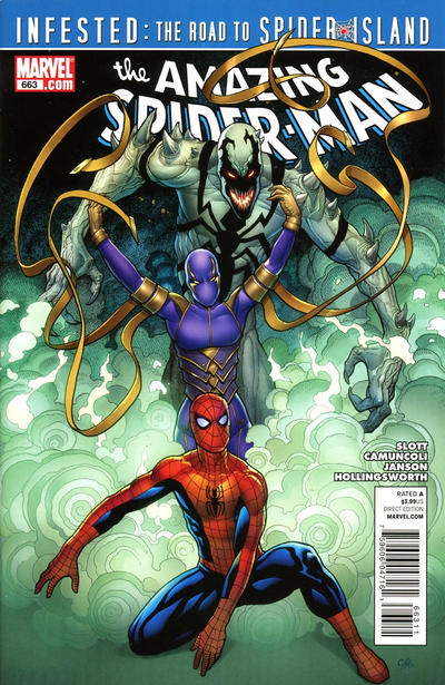 Cover for The Amazing Spider-Man (Marvel, 1999 series) #663