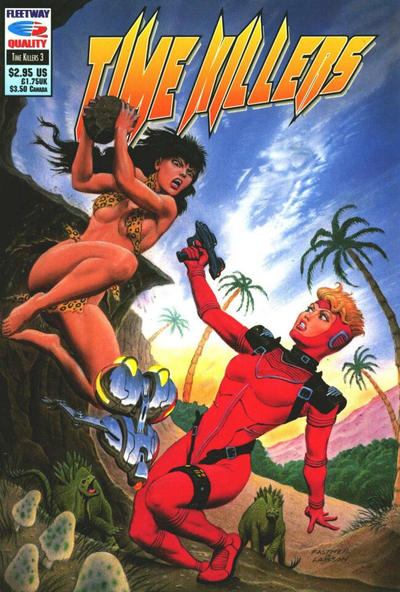 Cover for Time Killers (Fleetway/Quality, 1992 series) #3
