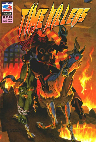 Cover for Time Killers (Fleetway/Quality, 1992 series) #6