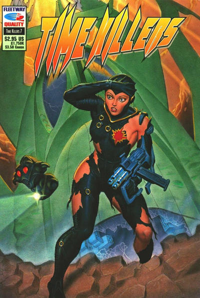 Cover for Time Killers (Fleetway/Quality, 1992 series) #7