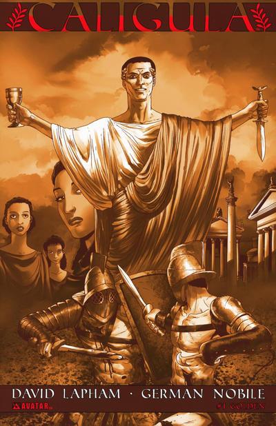 Cover for Caligula (Avatar Press, 2011 series) #1 [Wondercon]