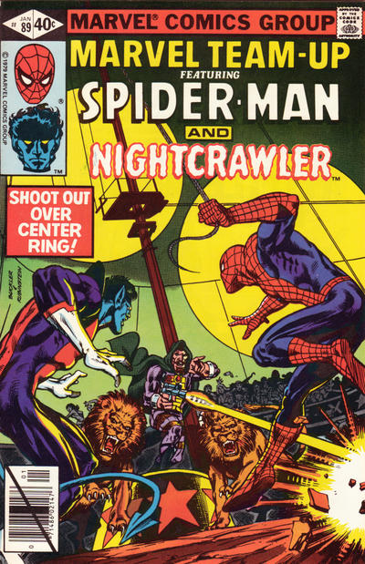 Cover for Marvel Team-Up (Marvel, 1972 series) #89 [Direct Edition]