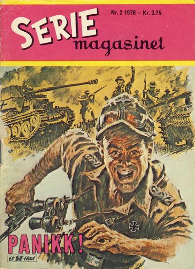 Cover for Seriemagasinet (Serieforlaget / Se-Bladene / Stabenfeldt, 1951 series) #2/1978