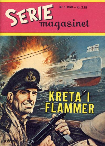 Cover for Seriemagasinet (Serieforlaget / Se-Bladene / Stabenfeldt, 1951 series) #1/1978