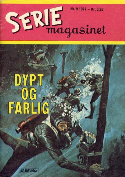 Cover for Seriemagasinet (Serieforlaget / Se-Bladene / Stabenfeldt, 1951 series) #9/1977
