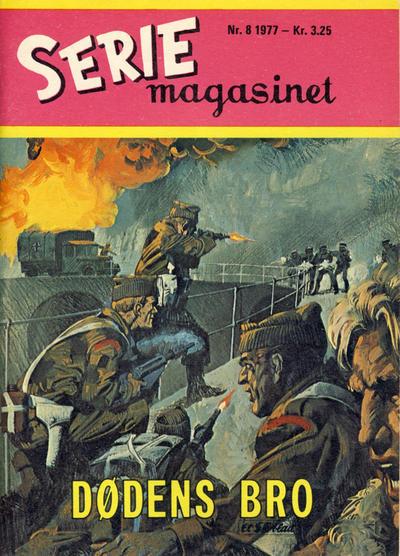 Cover for Seriemagasinet (Serieforlaget / Se-Bladene / Stabenfeldt, 1951 series) #8/1977