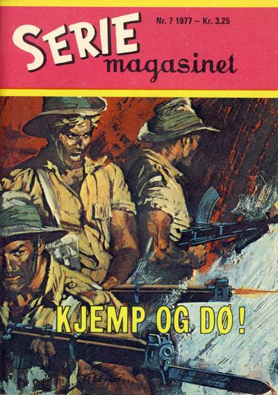 Cover for Seriemagasinet (Serieforlaget / Se-Bladene / Stabenfeldt, 1951 series) #7/1977