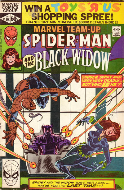Cover for Marvel Team-Up (Marvel, 1972 series) #98 [Direct Edition]