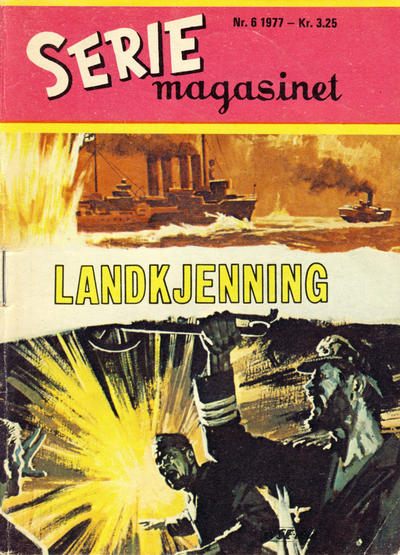 Cover for Seriemagasinet (Serieforlaget / Se-Bladene / Stabenfeldt, 1951 series) #6/1977