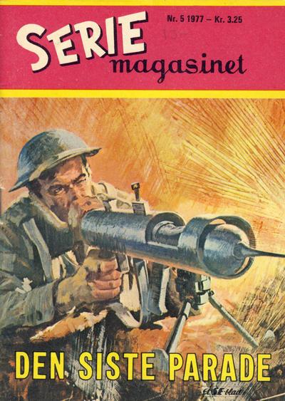 Cover for Seriemagasinet (Serieforlaget / Se-Bladene / Stabenfeldt, 1951 series) #5/1977