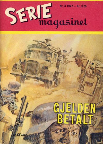 Cover for Seriemagasinet (Serieforlaget / Se-Bladene / Stabenfeldt, 1951 series) #4/1977