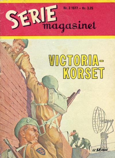 Cover for Seriemagasinet (Serieforlaget / Se-Bladene / Stabenfeldt, 1951 series) #3/1977