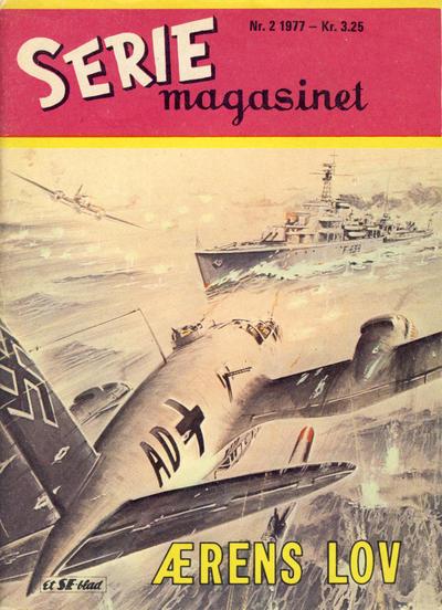 Cover for Seriemagasinet (Serieforlaget / Se-Bladene / Stabenfeldt, 1951 series) #2/1977