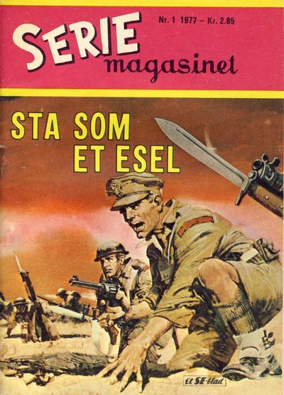 Cover for Seriemagasinet (Serieforlaget / Se-Bladene / Stabenfeldt, 1951 series) #1/1977