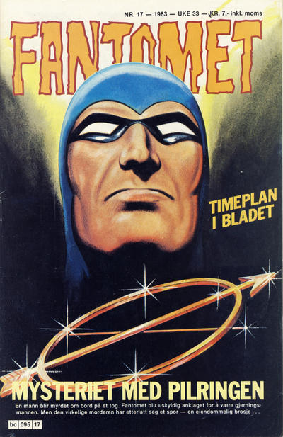 Cover for Fantomet (Semic, 1976 series) #17/1983