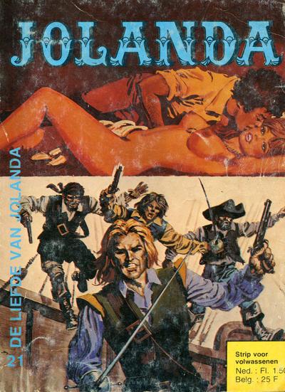 Cover for Jolanda (De Vrijbuiter; De Schorpioen, 1973 series) #21
