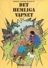 Cover for Tintins äventyr (Nordisk bok, 1984 ? series) #T-017 [4387] - Det hemliga vapnet
