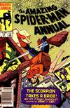 Cover for The Amazing Spider-Man Annual (Marvel, 1964 series) #18 [Newsstand]