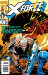 Cover Thumbnail for X-Force (1991 series) #35 [Newsstand Edition]