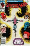 Cover for Spider-Man (Marvel, 1990 series) #25 [Newsstand]