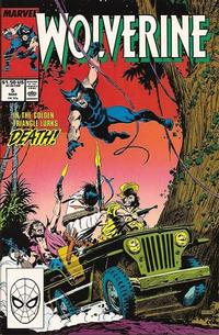 Cover Thumbnail for Wolverine (Marvel, 1988 series) #5 [Direct]
