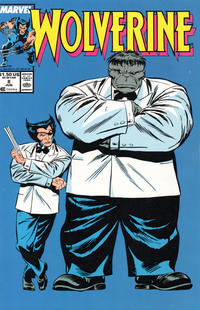 Cover Thumbnail for Wolverine (Marvel, 1988 series) #8