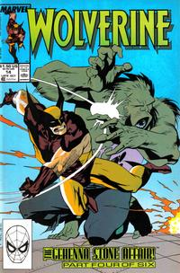 Cover Thumbnail for Wolverine (Marvel, 1988 series) #14 [Direct]