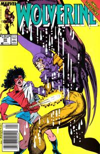 Cover Thumbnail for Wolverine (Marvel, 1988 series) #20 [Newsstand]