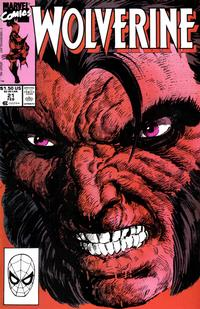 Cover Thumbnail for Wolverine (Marvel, 1988 series) #21 [Direct]