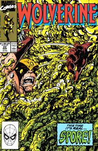 Cover Thumbnail for Wolverine (Marvel, 1988 series) #22 [Direct]