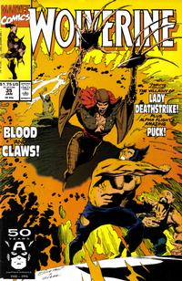 Cover Thumbnail for Wolverine (Marvel, 1988 series) #35 [Direct]