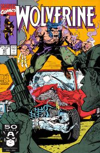 Cover Thumbnail for Wolverine (Marvel, 1988 series) #47 [Direct Edition]