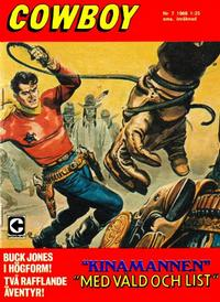Cover Thumbnail for Cowboy (Centerförlaget, 1951 series) #7/1968