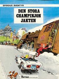 Cover Thumbnail for Spirous äventyr (Nordisk bok, 1984 series) #[4290] - Den stora champinjonjakten