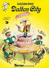 Cover Thumbnail for Lucky Lukes äventyr (Nordisk bok, 1984 series) #T-015; K-01852 - Dalton City
