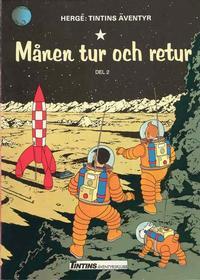 Cover Thumbnail for Tintins äventyr (Nordisk bok, 1984 ? series) #TTabb-002 [4404] - Månen tur och retur del 2