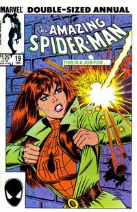 Cover for The Amazing Spider-Man Annual (Marvel, 1964 series) #19 [Canadian]