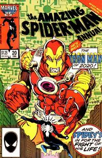 Cover for The Amazing Spider-Man Annual (Marvel, 1964 series) #20 [Direct Edition]