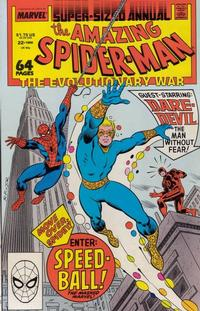 Cover for The Amazing Spider-Man Annual (Marvel, 1964 series) #22 [Direct Edition]