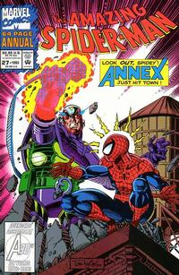 Cover Thumbnail for The Amazing Spider-Man Annual (Marvel, 1964 series) #27 [Direct]