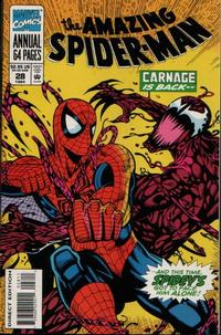 Cover Thumbnail for The Amazing Spider-Man Annual (Marvel, 1964 series) #28