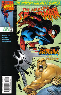 Cover for The Amazing Spider-Man (Marvel, 1963 series) #429 [Direct Edition]